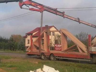 dźwigi na budowie