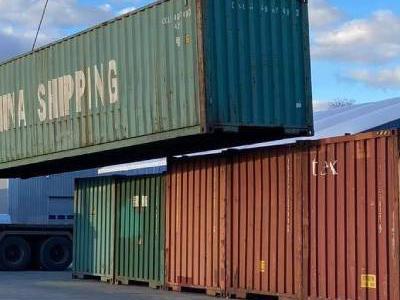 podnoszenie kontenera